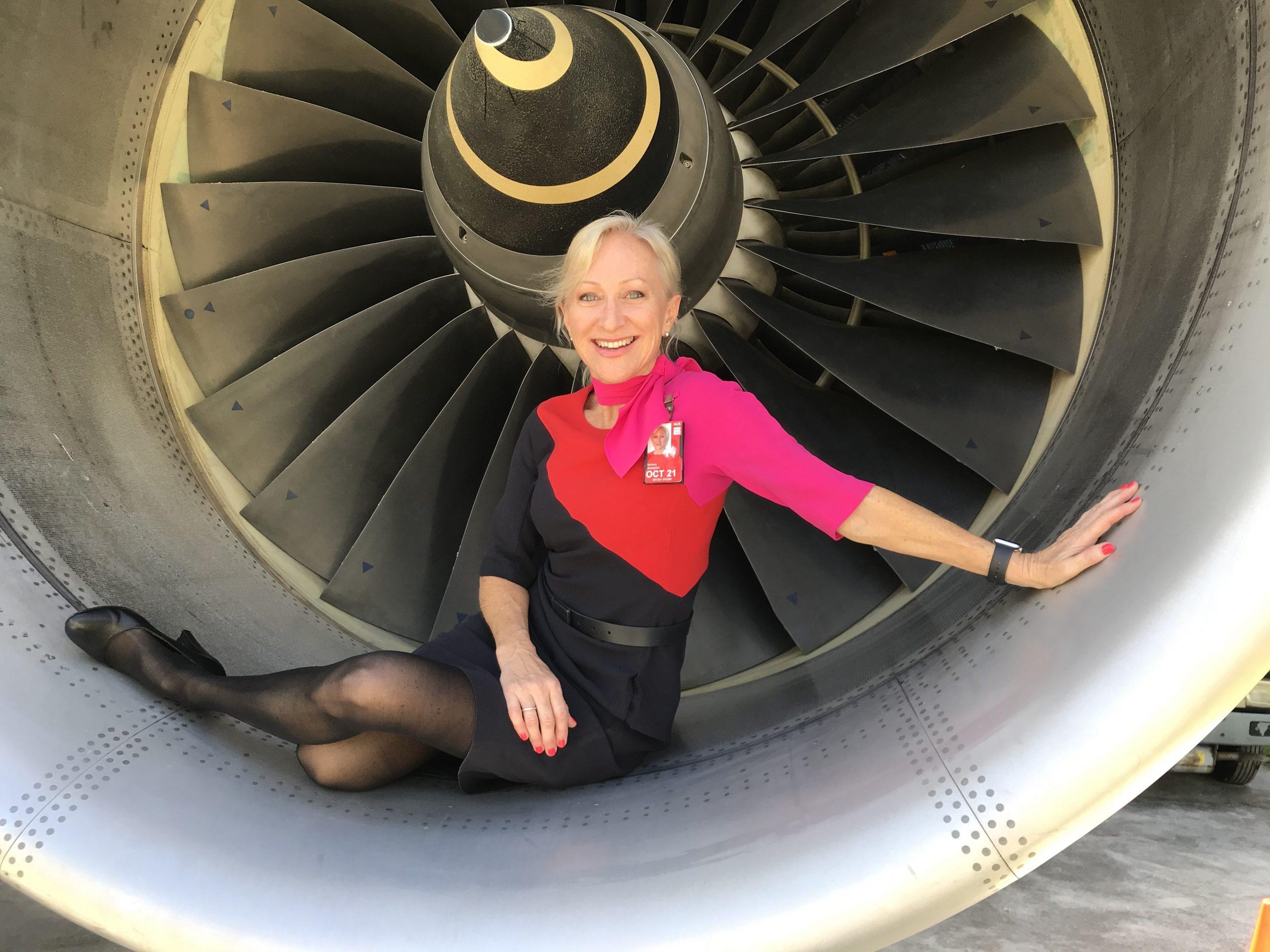 Qantas 747 Engine Cowl