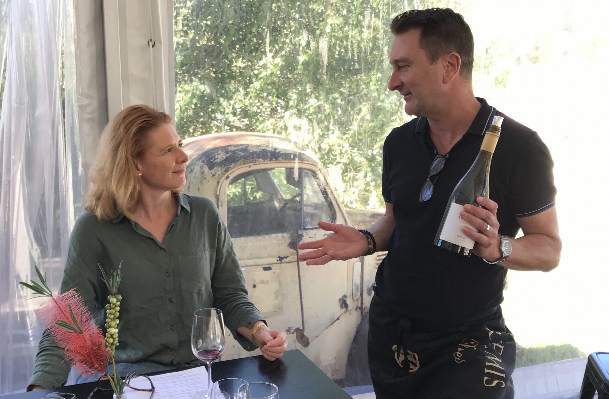 Artemis Wine Tasting